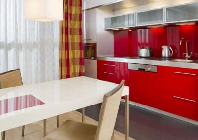 Mamaison Diana Warsaw Deluxe Grand Suite Kitchenette