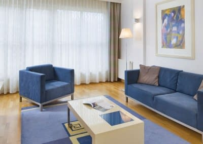 Mamaison Diana Warsaw Exceptional Suite Living Room